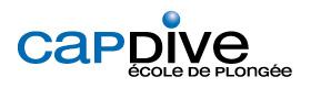 Cap Dive : Ecole de plongée à Paris